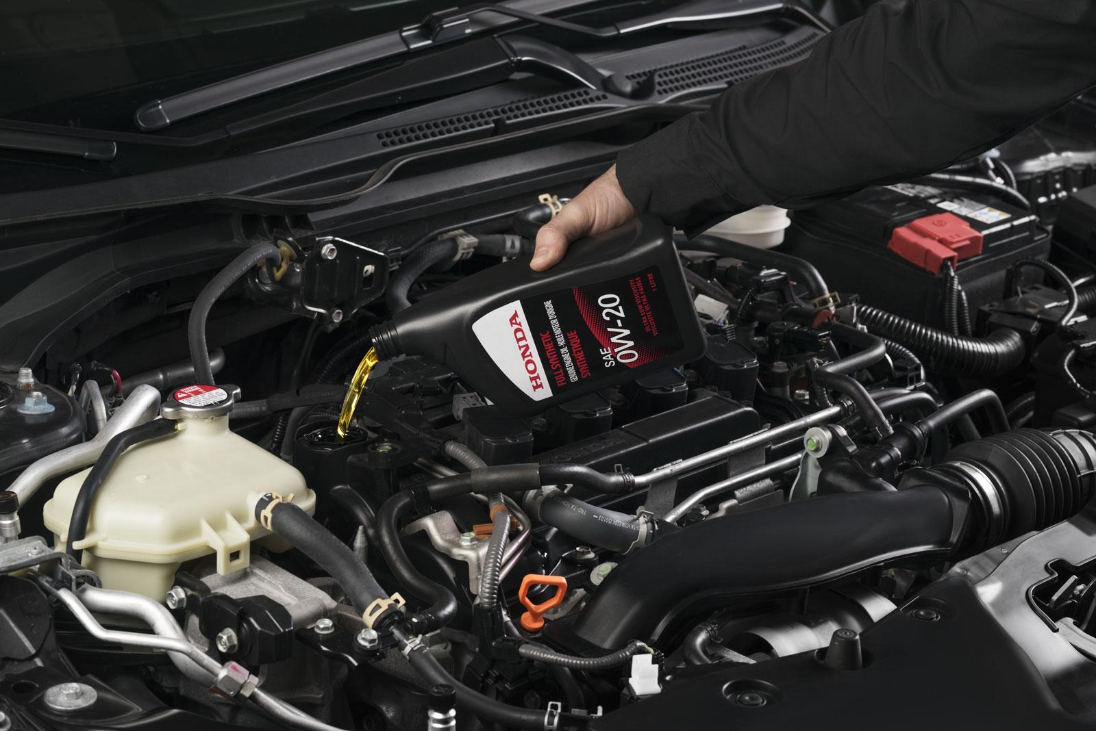 Honda Oil Change in Winnipeg