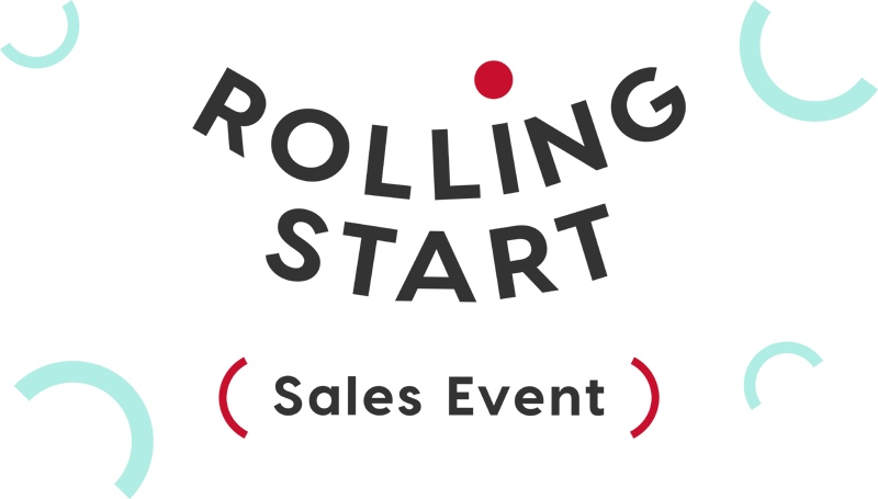 Rolling Start Sales Event