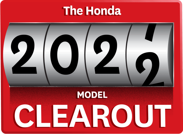 The Honda 2021 Model Clearout